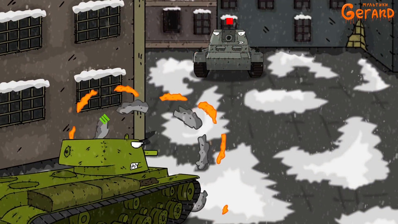 Top 10 series of cartoons about tanks.
