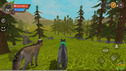 #3 the WOLF FAMILY we all HURT the real life of animals in wild forest WOLF simulator animal life